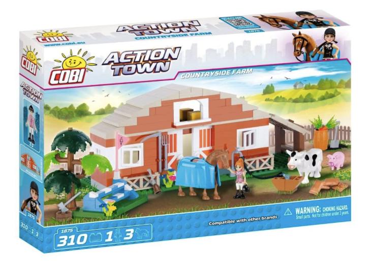 COBI 1875 - Action Town Countryside Farm