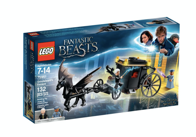 LEGO 75951 - Huida de Grindelwald