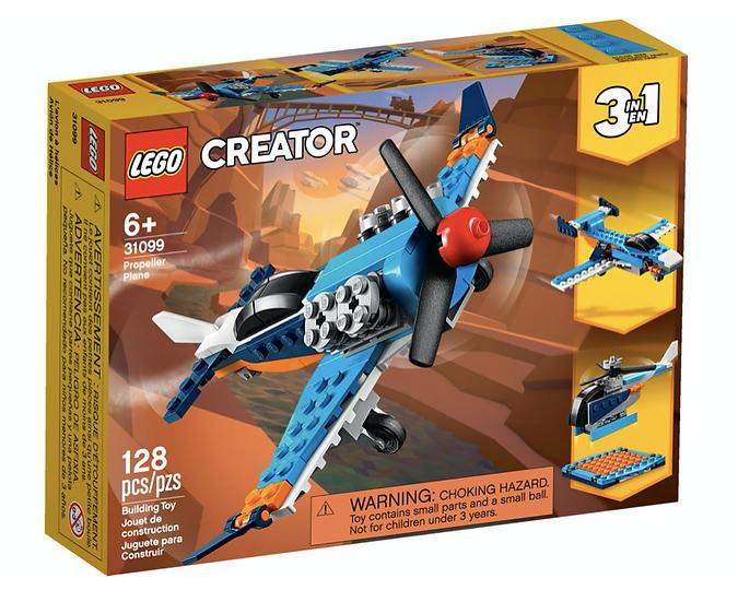 LEGO 31099 - Avión de Hélice
