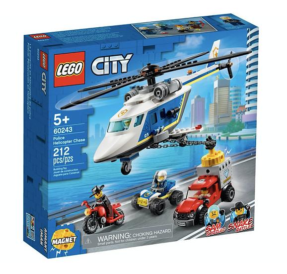 LEGO 60243 - Policía: Persecución en Helicóptero