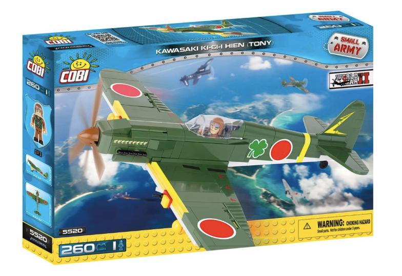 COBI 5520 - Kawasaki KI-61-I Hien (Tony)
