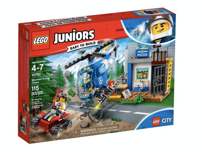 LEGO 10751 - JUNIORS - Persecución policial en la montaña