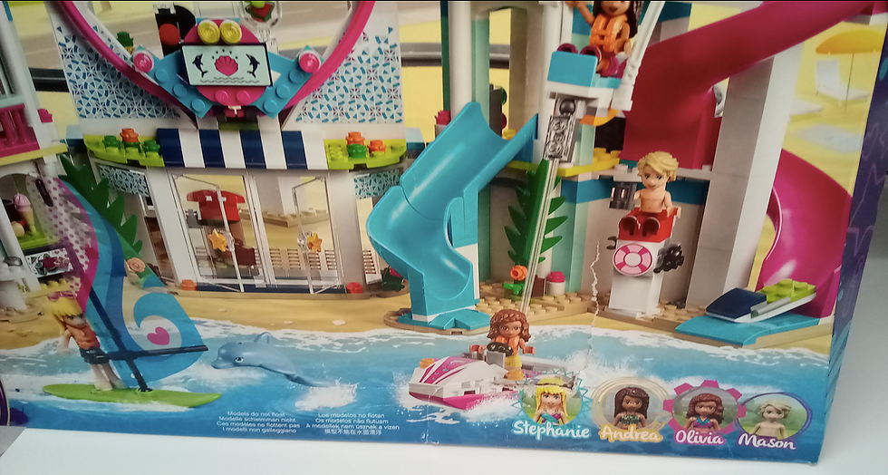 LEGO 41347 - Resort de Heartlake City (Caja dañado)