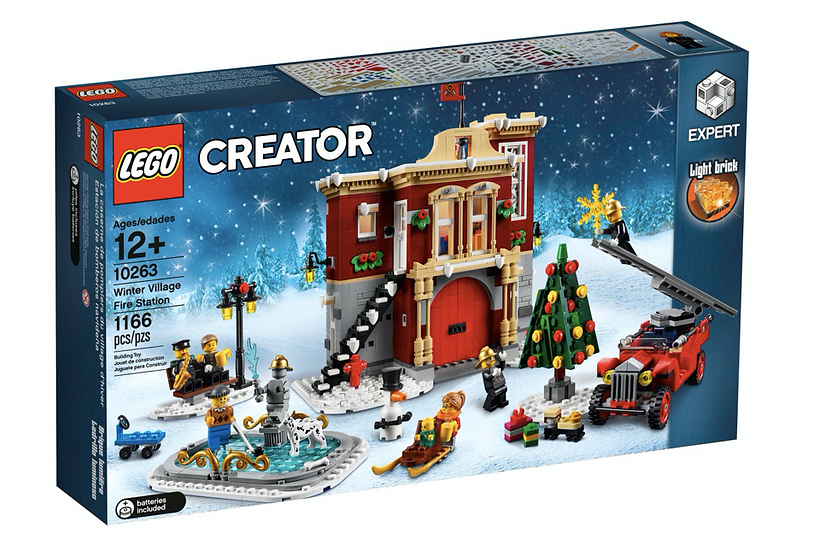 LEGO 10263 - Parque de bomberos navideño