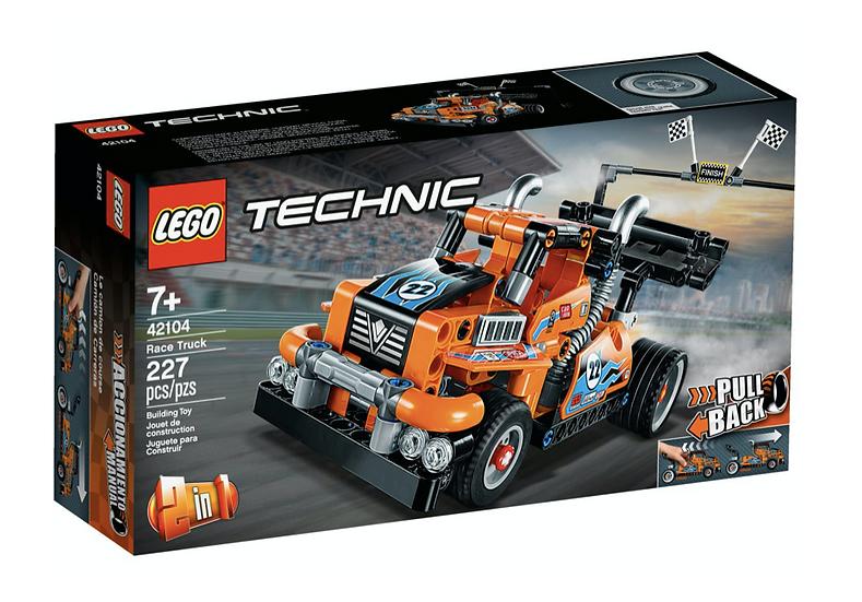 LEGO 42104 - Camión de Carreras