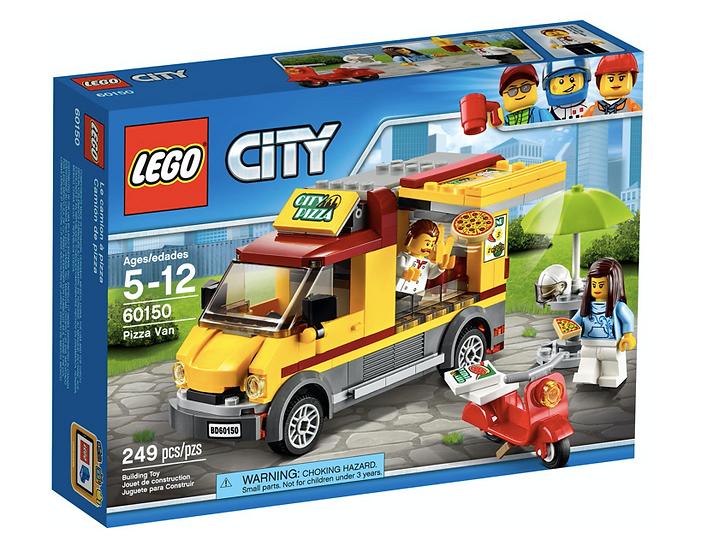 LEGO 60150 - Camión de pizza