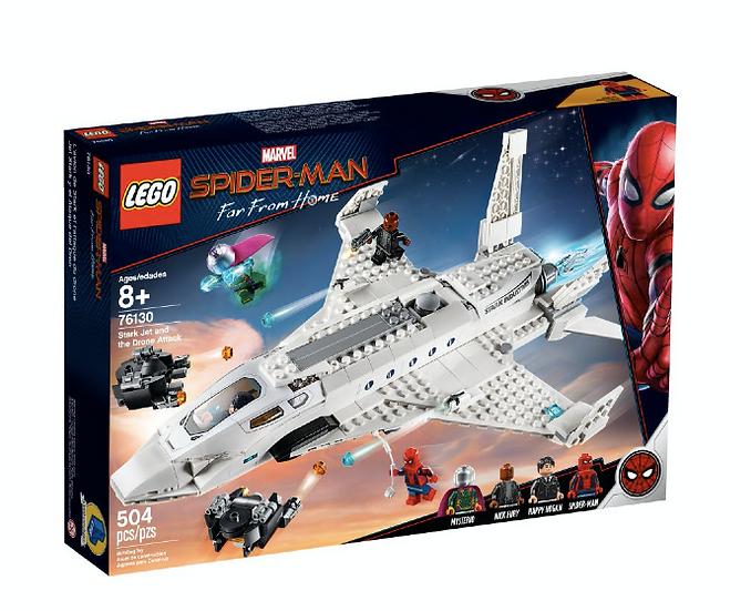 LEGO 76130 - Jet Stark y el Ataque del Dron