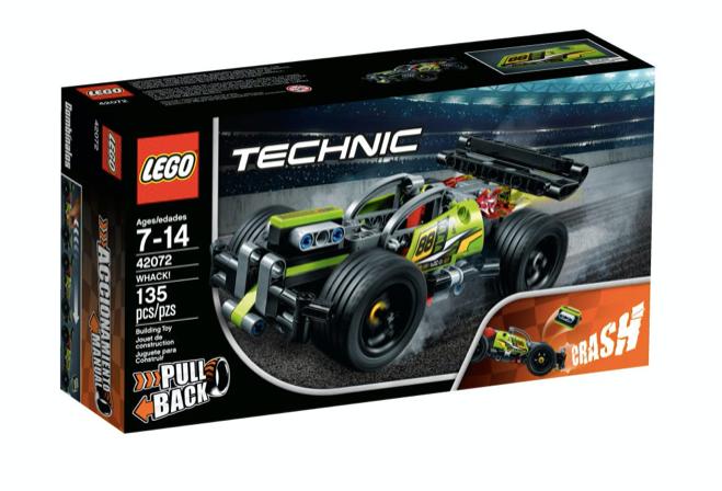 LEGO 42072 - ¡GOLPEA!