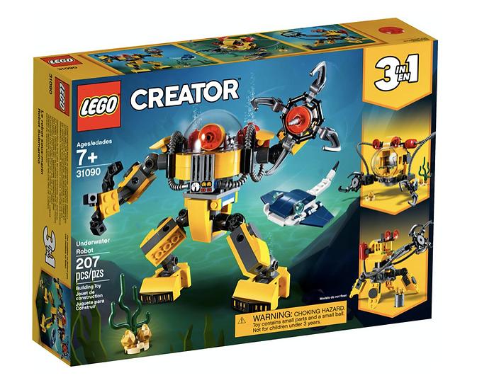 LEGO 31090 - Robot Submarino