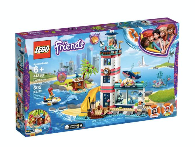 LEGO 41380 - Centro de Rescate del Faro