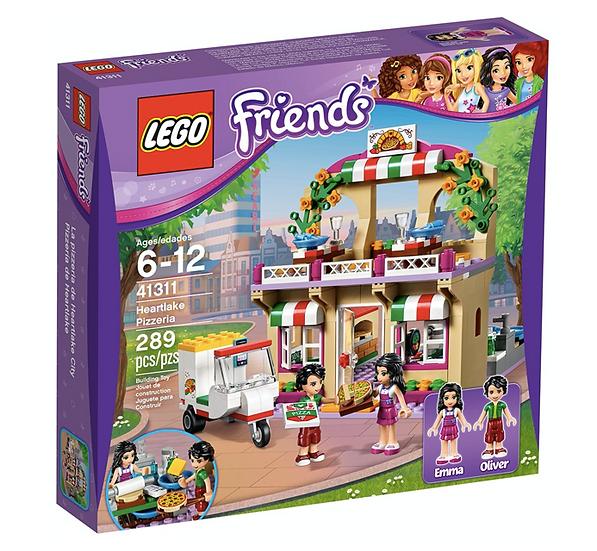 LEGO 41311 - Pizzería de Heartlake