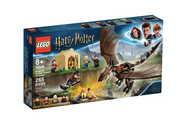 LEGO 75946 - Desafío de los Tres Magos: Colacuerno Húngaro