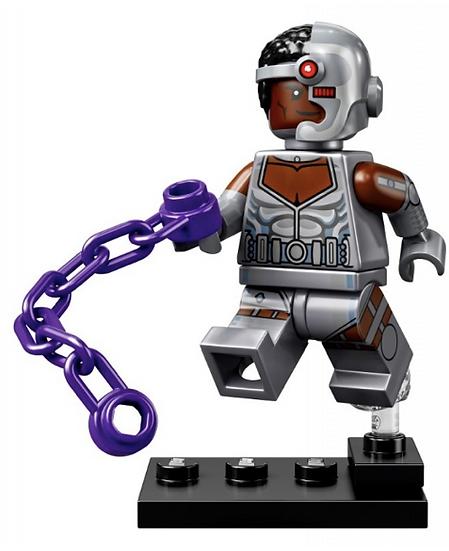 LEGO Minifiguras - DC Super Heroes - Cyborg