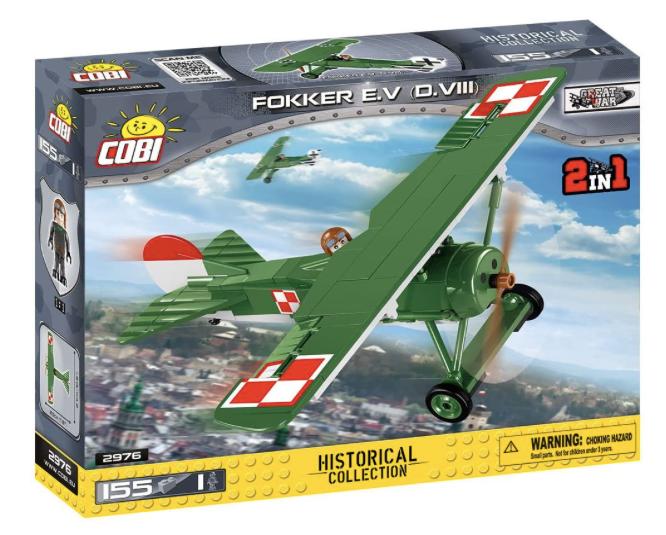 COBI 2976 - Fokker E.V (D.VIII)
