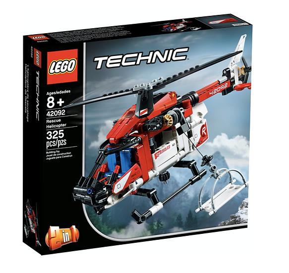 LEGO 42092 - Helicóptero de Rescate