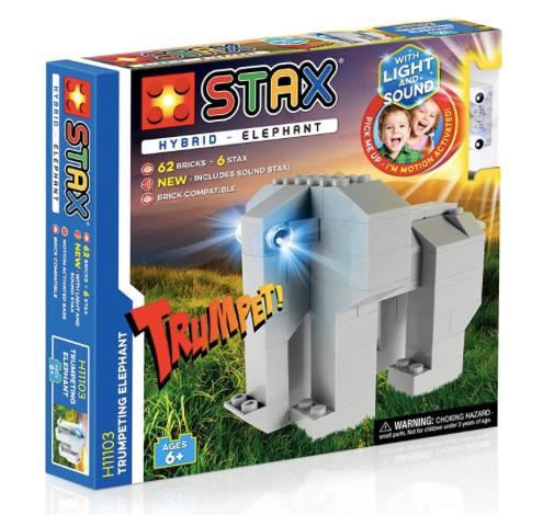 STAX - H11103 - Hybrid Elefante de Trompeta (Luz+Sonido)