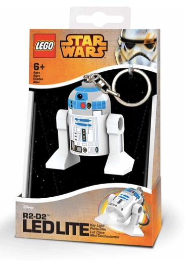 LEGO Star Wars - LED LITE - Llavero con luz - R2-D2