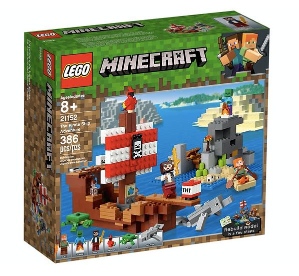 LEGO 21152 - La Aventura del Barco Pirata