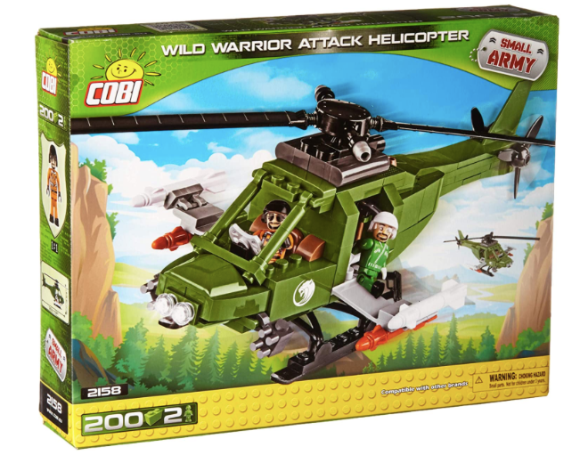 COBI 2158 - Wild Warrior Attack Helicopter