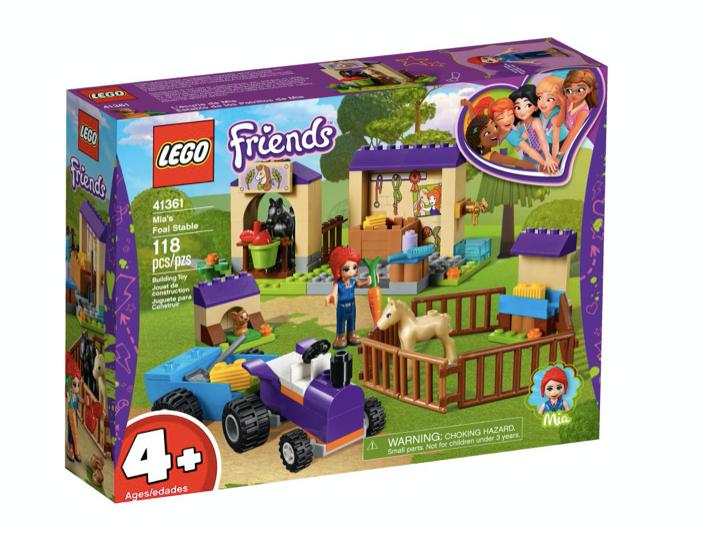 LEGO 41361 - Establo de los Potros de Mia