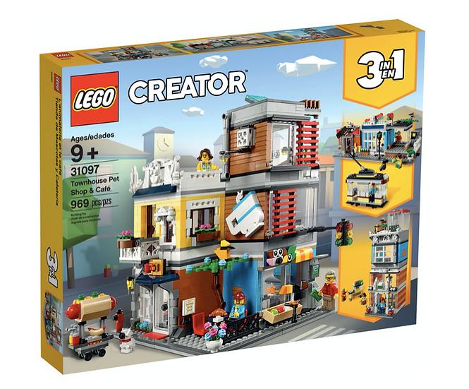 LEGO 31097 - Tienda de Mascotas y Cafetería