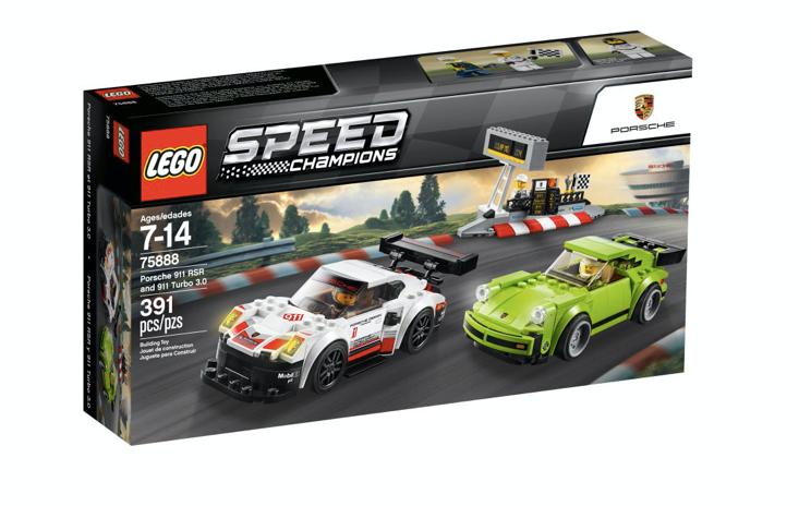 LEGO 75888 - Porsche 911 RSR y 911 Turbo 3.0