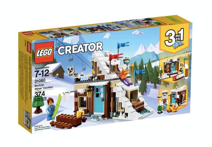 LEGO 31080 - Refugio de invierno modular