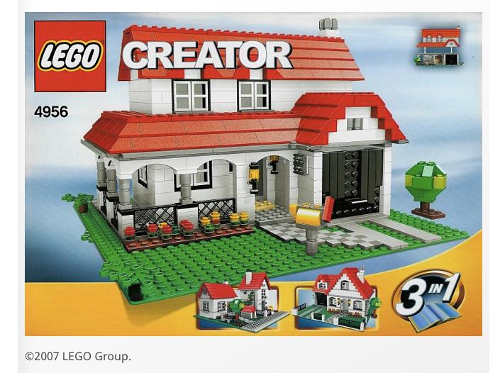 LEGO 4956 - Casa (2007)