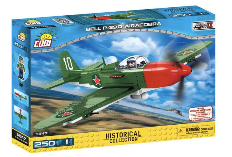 COBI 5547 - Bell P-39Q AIRACOBRA