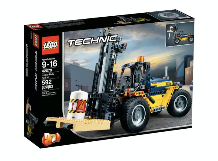 LEGO 42079 - Carretilla elevadora de alto rendimiento