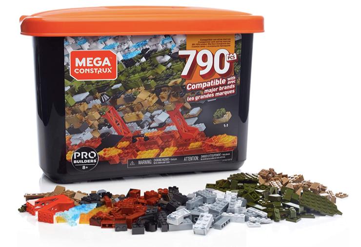 MEGA CONSTRUX GJD26 - Caja PRO Builders 790 piezas