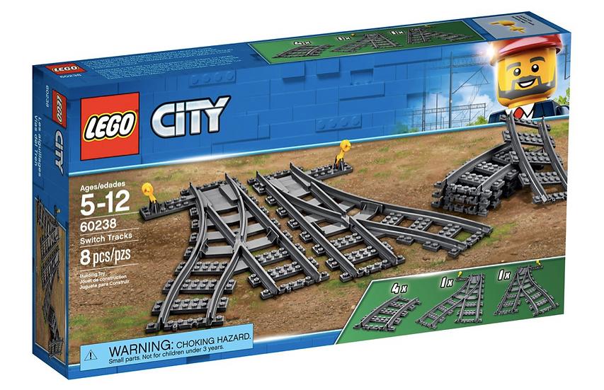 LEGO 60238 - Cambios de Agujas