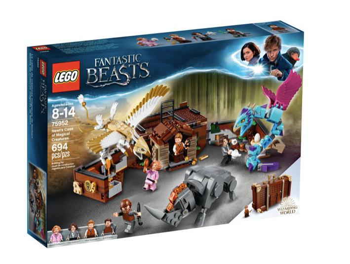 LEGO 75952 - Maleta de criaturas mágicas de Newt