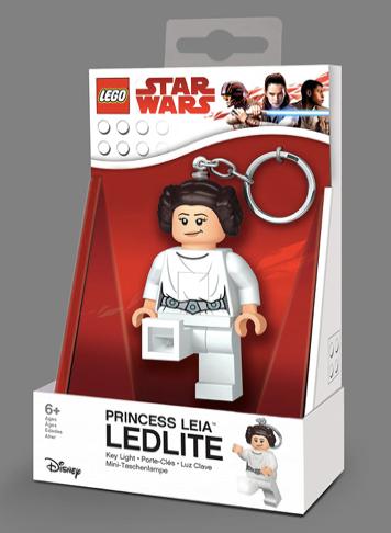 LEGO Star Wars - LED LITE - Llavero con luz - Princess Leia