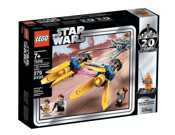 LEGO 75258 - Vaina de Carreras de Anakin