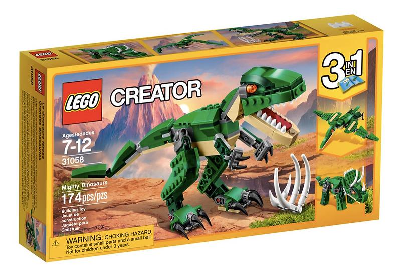 LEGO 31058 - Grandes dinosaurios