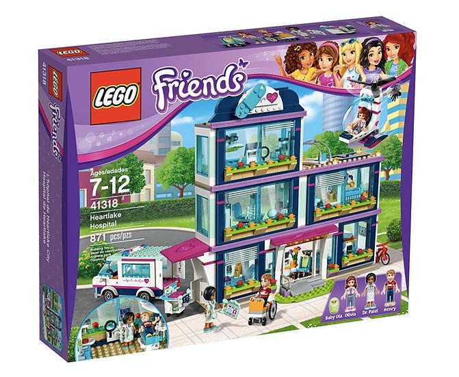 LEGO 41318 - Hospital de Heartlake