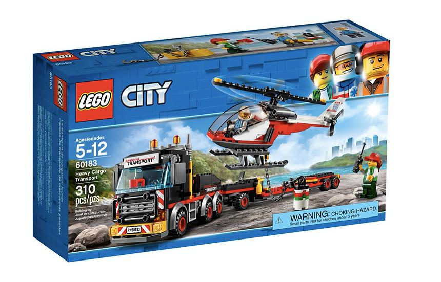 LEGO 60183 - Camión de transporte de mercancías pesadas