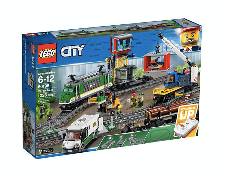 LEGO 60198 - Tren de mercancías
