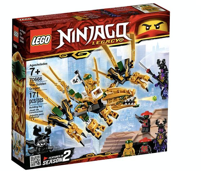LEGO 70666 - Dragón Dorado