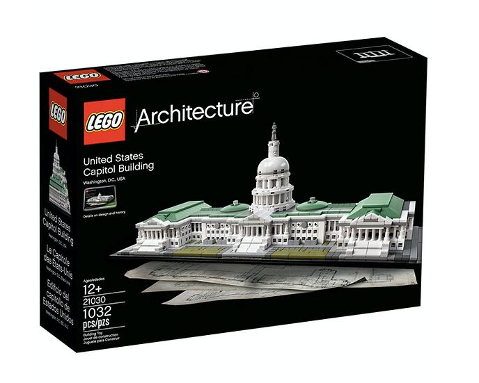 LEGO 21030 - Edificio del capitolio de Estados Unidos