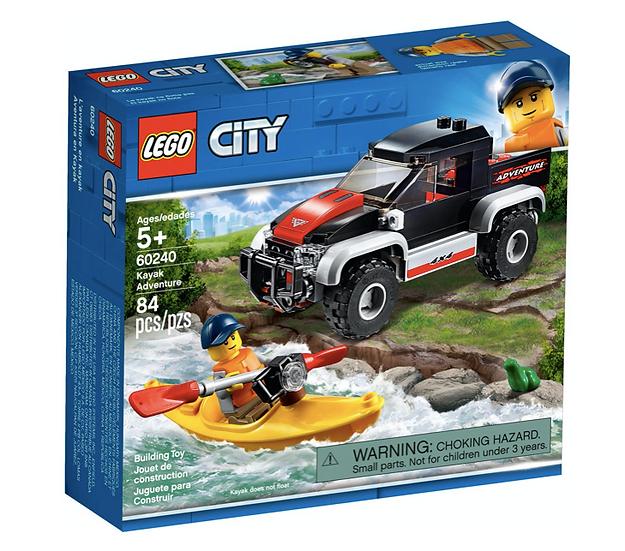 LEGO 60240 - Aventura en Kayak