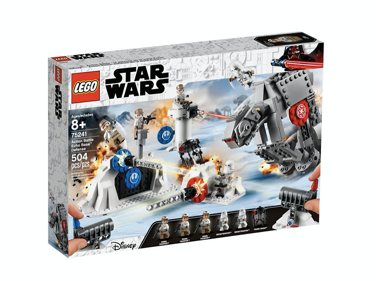 LEGO 75241 - Action Battle: Defensa de la Base Eco