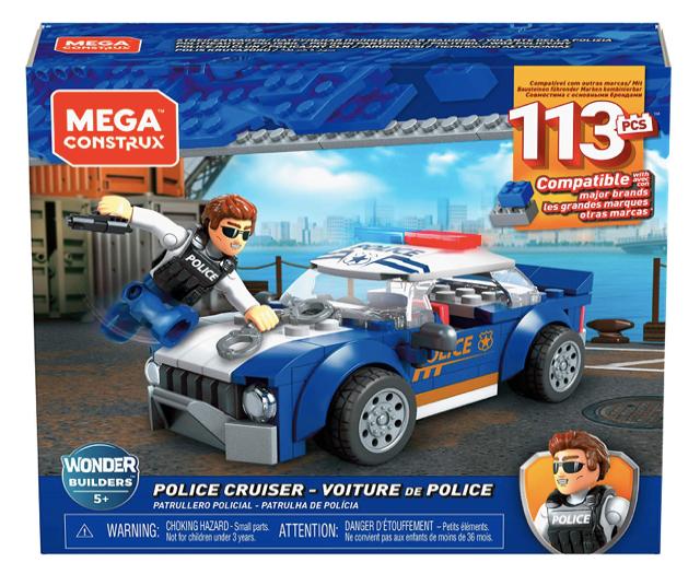 MEGA CONSTRUX GLK52 - Coche de Policia