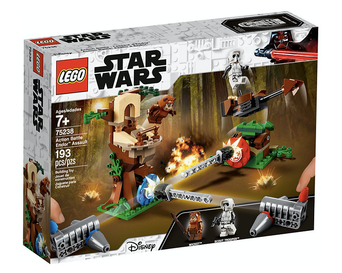 LEGO 75238 - Action Battle: Asalto a Endor™