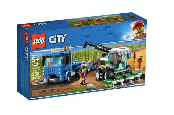 LEGO 60223 - Transporte de la Cosechadora