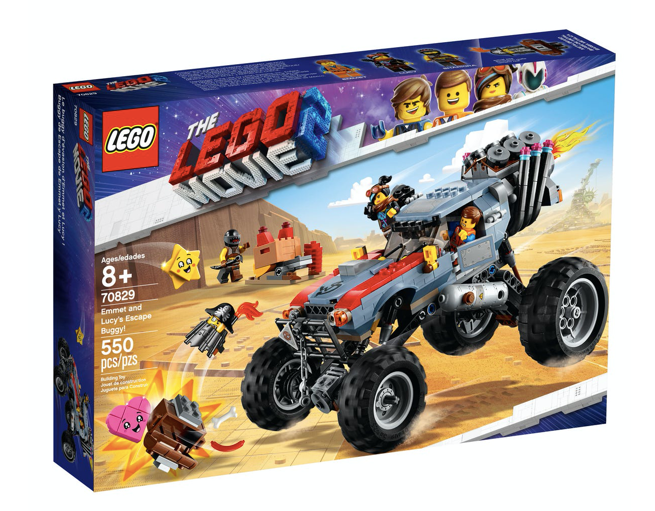 LEGO 70829 - The Lego Movie 2 - Buggy de Huida de Emmet y Lucy