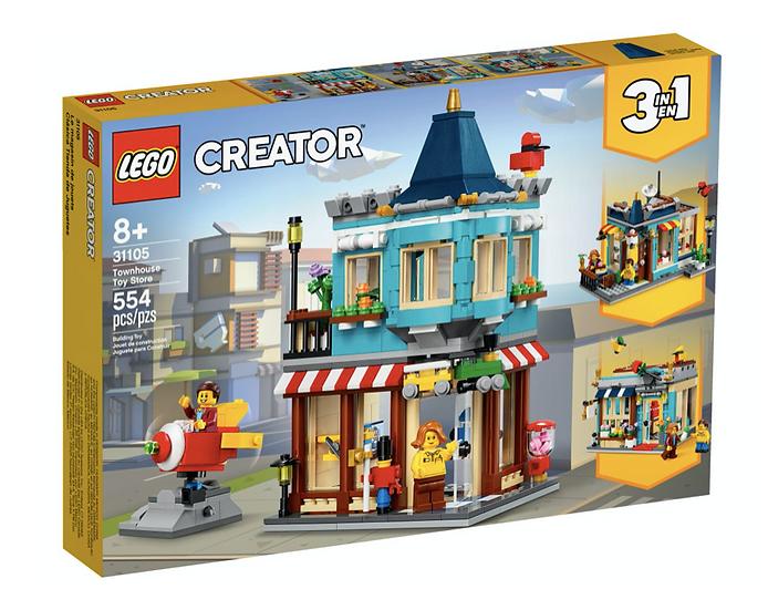 LEGO 31105 - Tienda de Juguetes Clásica