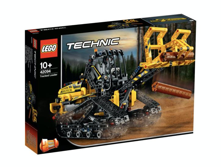 LEGO 42094 - Cargadora con Orugas