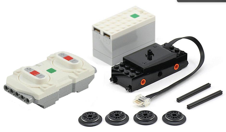 LEGO - Motorizacion de Tren completo Powered Up